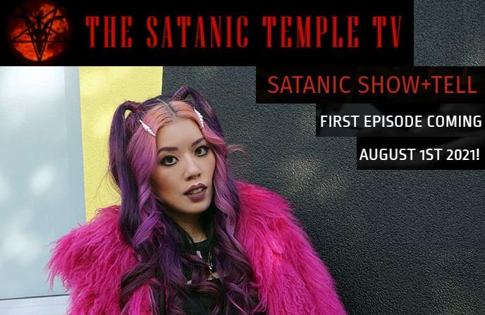 la carmina tv host satanic temple television lacarmina