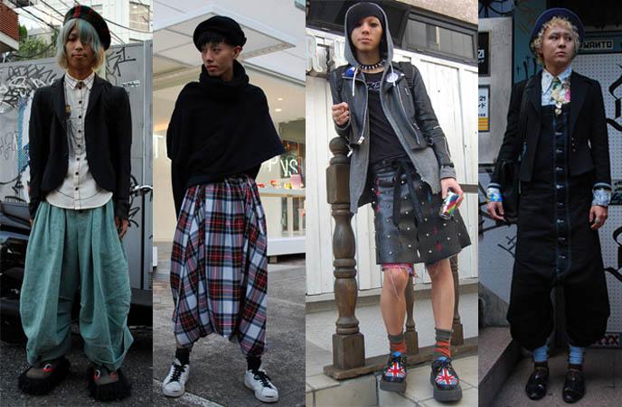 Japanese Male Street Fashion Drop Japan Photos La Carmina Blog Alternative Fashion Travel