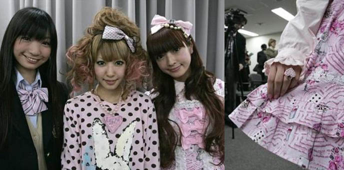 Japan ambassadors of cute, government appointed cute Japanese girl models. Harajuku girls.