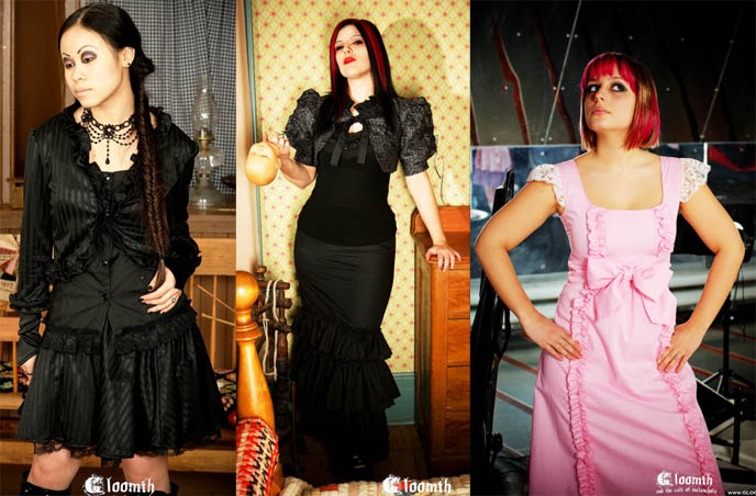 Japanese Gothic Lolita, custom and plus sized clothing. Buy Gothic Lolita fashion from Canada, Gloomth by Taeden Hall.