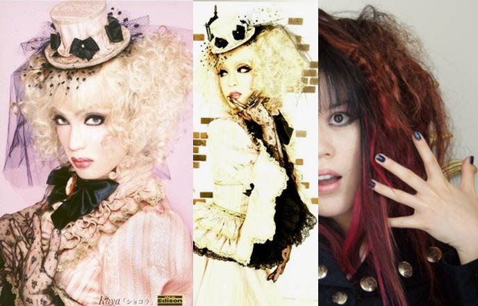 visual kei hairstyle. I#39;d like a Visual Kei / Gothic