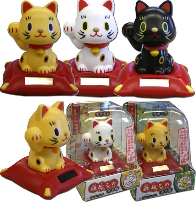 Maineki nekos, cat figurine toy, one paw up lucky cat, hello kitty sanrio kawaii animals