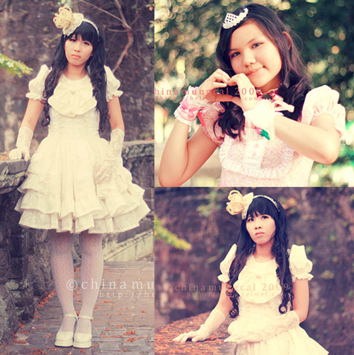 amaloli, sweet lolita teen girls, pretty bridesmaid flower girl dresses, children's clothing Japanese fashion, crown tiara.