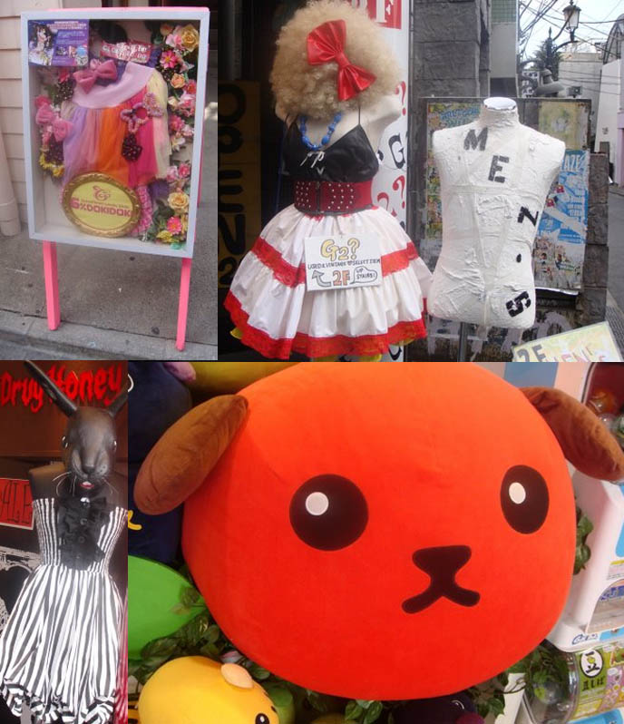 Harajuku stores 6% Doki Doki, Kiddyland kawaii cute store, sanrio stationery, pretty Lolita dresses Japan shopping guide.