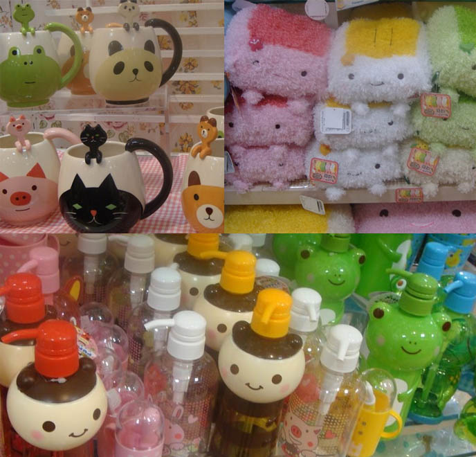Home Accessories Stores: CUTE TOKYO CHARACTER GOODS STORES: KAWAII HOME DECOR