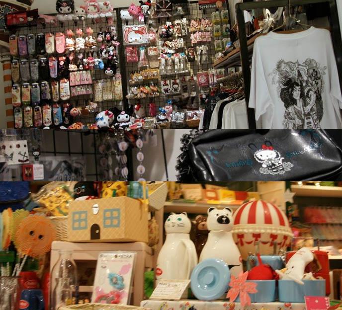 Marui One department store in Shinjuku, Tokyo, Japan. Hello Kitty accessories, cute purses and kawaii stationery, Sanrio store and shopping. h.NAOTO and Hello Kitty collaboration, Japanese toys and souvenirs.