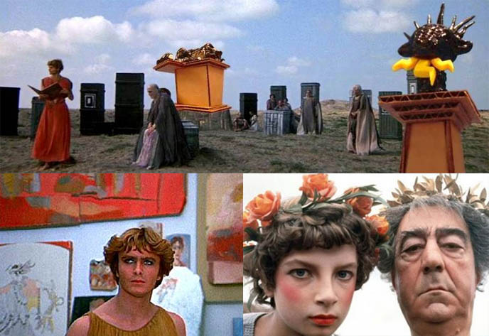 Fellini Satyricon movie