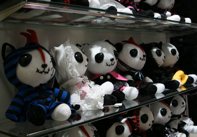 ロリータ・ファッション, hangry and angry stuffed toys, plush cat animals, Goth cat toys, h.NAOTO accessories, Hangry and Angry evil Goth Lolita punk cats, plush toys. Sanrio Hello Kitty plushes, Japanese collector items, rare toys from Maruione, where to buy hip women's clothing and Tokyo jewelry