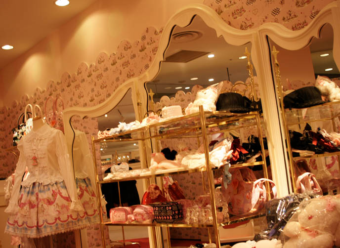 Kera Shop Angel cute pretty frilly Lolita dresses,  Gothic Lolita fashion, sweet little girls clothing, EGL EGA, Marui One J-rock style clothing and top hats, mature Goth clothes, designer Japanese Goth. ロリータ・ファッション