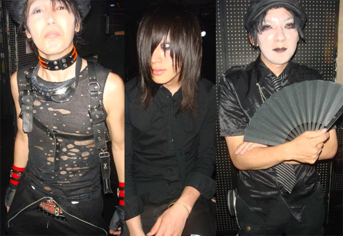 Japanese male Goth fashion, boystyle, yaoi, Goth punk cute boys, emo clothing for men. Male Gothic hairstyles. Alamode night, Club Crawl Shibuya. Tokyo Japan industrial hardcore gabber nightclub, music, concerts. Best dance parties in Japan. DJ Sisen, Chihiro, Takuya Angel, Tetra, Kanon, D's Valentine Goth party.