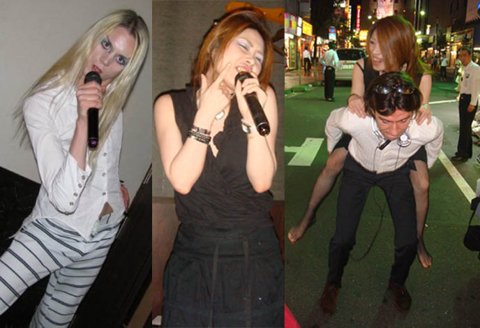 Best Karaoke in Tokyo Japan, cheap rental rooms for karaoke in Shinjuku, tips and list of songs for singing, Japanese karaoke parlors and party renting, private rooms and recommended music. Pasela drinks included, big toast