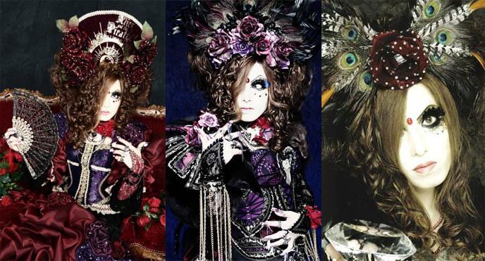 Jasmine You, Versailles Visual Kei bassist, bass guitar player in J-rock band, died. Tokyo Japan rock star, Aristocrat Symphony Rose, noble, Hizaki.