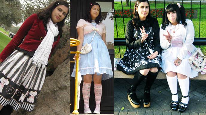 Lima Peru Gothic Lolita, Baby the Stars Shine Bright model, jobs, sweet lolita fashion, how to dress japanese lolita fashion, South America EGL. Angelic Pretty, Emily Temple Cute (not loli but I love it!), Putumayo, BabySSB, Metamorphose, SEXPOT Revenge.