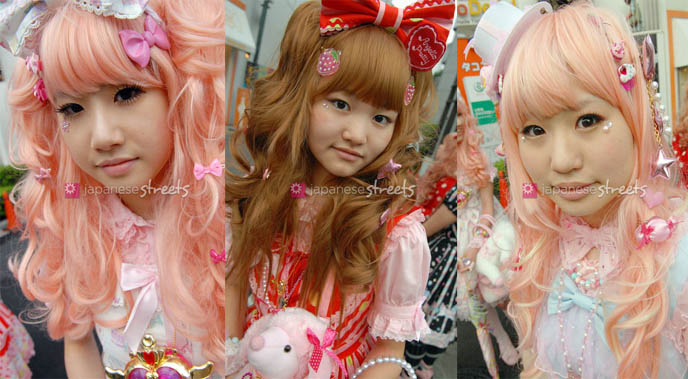 Japanese Streets, teenage Lolitas, Japan cute teen schoolgirls,