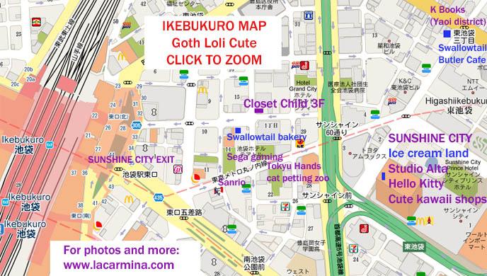 Tokyo Gothic Lolita Shopping Guide Sweet Amp Goth Harajuku