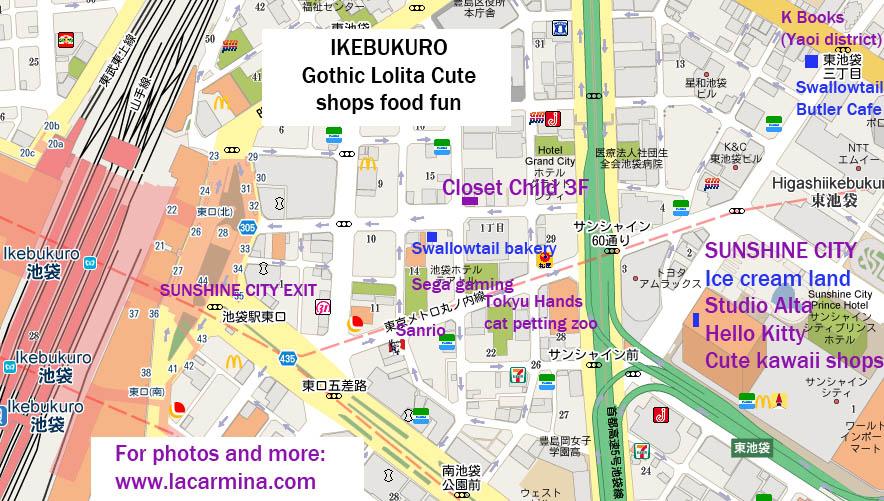 Tokyo Gothic Lolita Shopping Guide Sweet Goth Harajuku