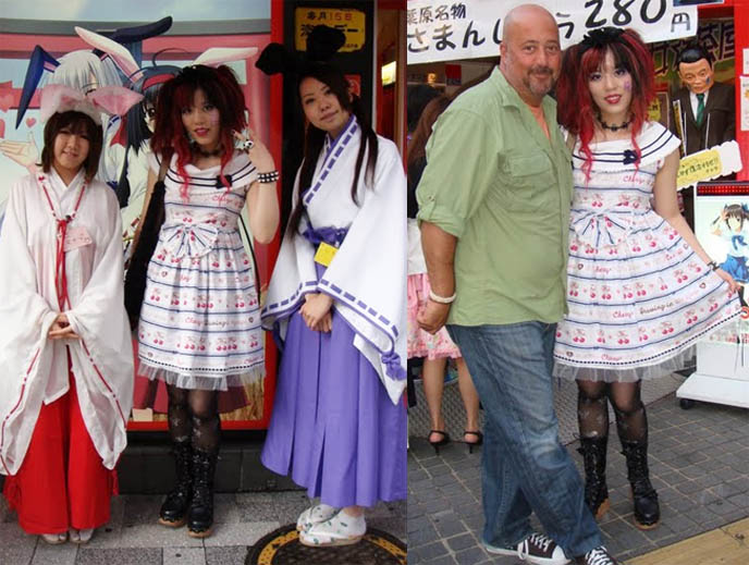 Bunny shinto temple girls cafe in Akihabara, Tokyo, cosplay Yunmao champion cosplayer, most expensive coolest amazing cosplay outfits, Andrew Zimmern Travel Channel Bizarre World TV show, maid cafes where you can take pictures, newest top best maid cafes in Akiba Tokyo Japan for otaku