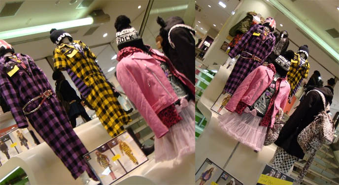 Laforet Harajuku department store, Gothic Lolita punk shopping, kera magazine clothes where to buy, women's best clothing stores, cheap fashion in Tokyo Japan, list of cool stores in Tokyo, Japanese contemporary modern edgy fashion and street style