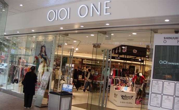 Marui One Shinjuku, 0101 Marui Young department store, shopping center for Gothic Lolita punk princess kei fashion, Jesus Diamante,  Angelic Pretty, galaxxxy returns, funky street cute things, alternative leather boots stomper shoes, Japanese street style fruits clothes where to buy, women's best clothing stores, cheap fashion in Tokyo Japan, list of cool stores in Tokyo, Japanese contemporary modern edgy fashion and street style