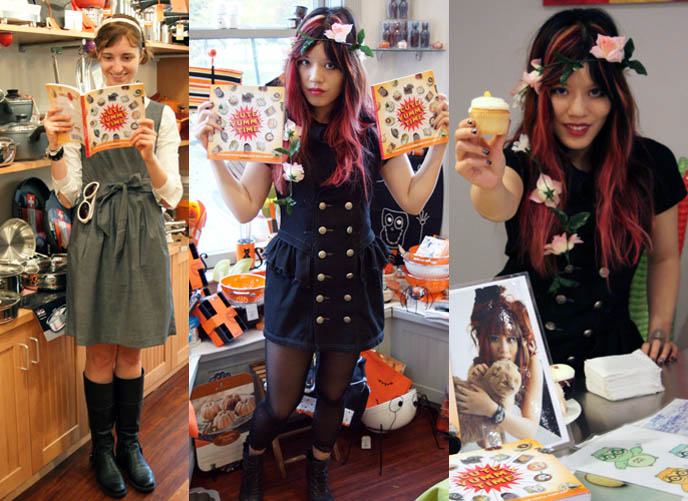 Cute yummy time new book signings announced in los for Akina japanese cuisine