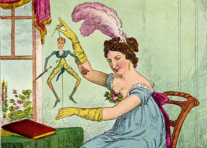 funny drawing of woman giant pink feather in hair, boytoy dandy man, male groupies, fanboys, HISTORY OF THE DANDY: FLAMBOYANT FLANEUR MALE FASHION, FROM ROCOCO WIGS TO NEW ROMANTIC TODAY'S STEAMPUNK & NEO-VICTORIANA. dances of vice new york, Dark Cabaret, Neo-Victoriana, & Vintage Culture, Jazz Age, Victorian, Rococo and New Romantic Events and parties, dandies, male metrosexuals, Popinjay, Incroyables, Maccaroni, Decadent