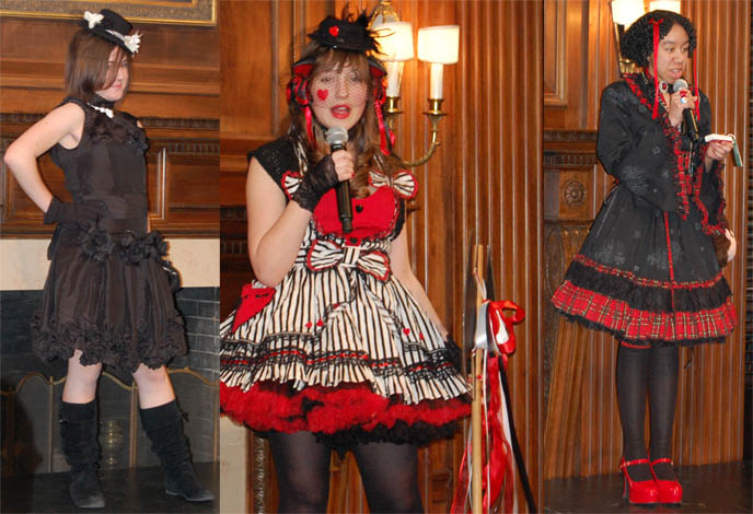 HARAJUKU FASHION SHOW AT WASHINGTON DC TEXTILE MUSEUM: GOTHIC & SWEET LOLITA FASHION SHOW, COSPLAY, JAPAN STREET CHIC SEMINAR, Contemporary Japanese Fashion: The Mary Baskett Collection, Issey Miyake, Rei Kawakubo and Yohji Yamamoto, lolita models