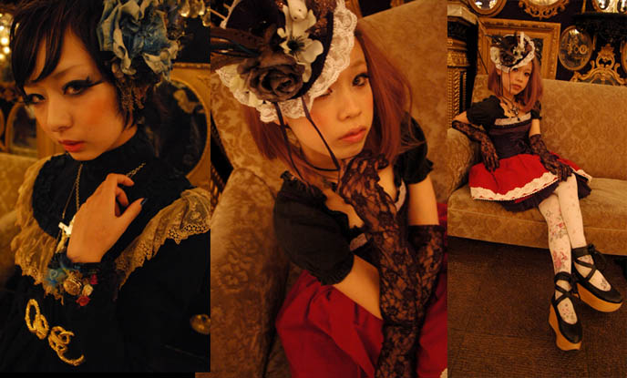 Grimoire vampire night, drop japan street style photos, tokyo fashion street photography, JAPANESE DOLLY FASHION: VINTAGE ANTIQUE DOLL LAYERED STREET STYLE, SHIBUYA BOUTIQUE GRIMOIRE. TOKYO STYLE TRIBES. middle ages Europe, medieval cosplay fashion, historic clothes, vintage in Japan and Asia, Handmade clothes delicate workmanship, mori girl, forest girl fashion Japan, Kera magazine, Vivi, Japanese magazine scans online, used clothes Shibuya, shopping for secondhand clothes in Tokyo Japan