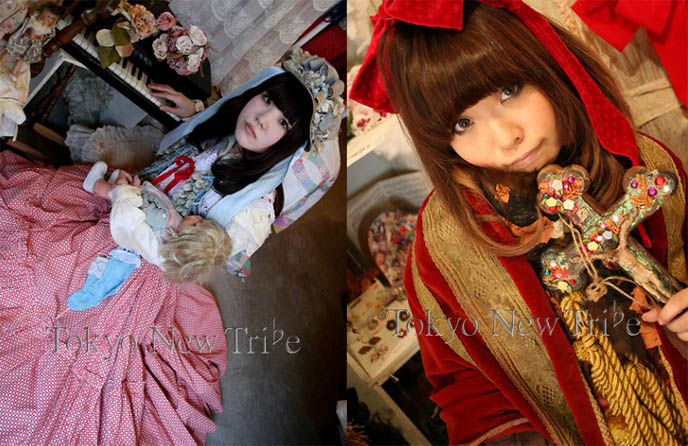 Japan Style Arena J Fashion Photos Westerners Who Wear Harajuku Clothing Alice Auaa Tokyo New