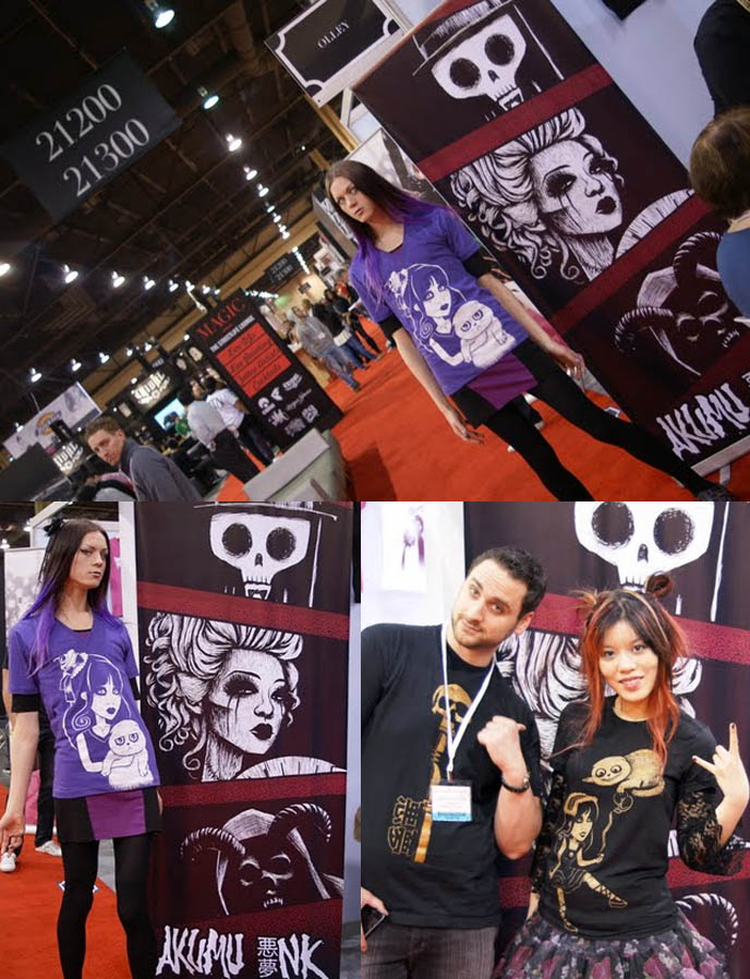magic marketplace, registration, exhibitors and attendees, textiles, fashion and accessories. Textile industry editorial, planning and sourcing tools, apparel convention center exposition, KYNT & VYXSIN AT LIP SERVICE, MAGIC CLOTHING TRADESHOW IN LAS VEGAS. WHOLESALE GOTH PUNK ALT FASHION.