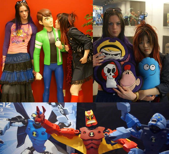 Cartoon Network Tour Powerpuff Girls Johnny Bravo Jobs For Cartoonists In Burbank Los Angeles
