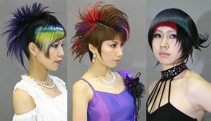Crazy Dyed Hair