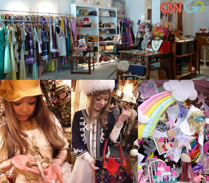 RISE OF VINTAGE SHOPPING IN ASIA, vintage stores, spank, fairy kei, tavuchi, green hair japanese girl, street style, fashion, singapore vintage shops, secondhand boutiques hong kong tokyo, thrift stores in Asia, Japan used clothing, grimoire dolly kei shibuya