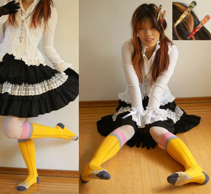Knee High Socks Asian Girls