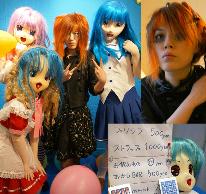 anime kigurumis, full mask bodysuits, dressing up as anime characters cosplay, AT HARAJUKU LOVELIES LAB: ALTERNATIVE FETISH ART & PERFORMANCE, DRAG QUEEN RACHEL D'AMOUR, DOLLARS COSPLAY, DEPARTMENT H, life-sized anime characters with full bodysuits and masks, cnngo cnni cnn international