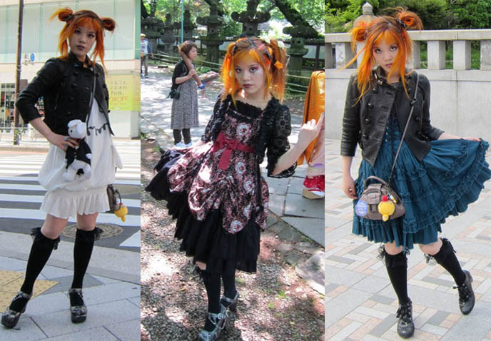 LA CARMINA gothic lolita fashion, how to makeup, goth hair, lolita clothes japan, tokyo street style, harajuku girls fashion. BIZARRE FOODS TOKYO EPISODE AIRS MONDAY 10PM ON TRAVEL CHANNEL, Andrew Zimmern bizarre world