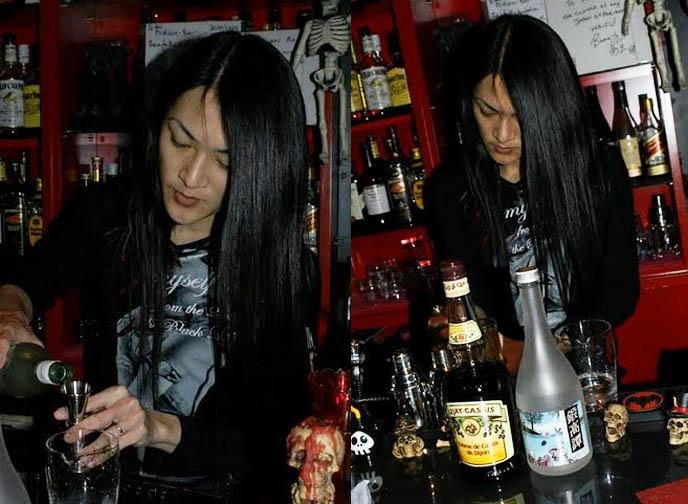 BAR MIDIAN IN OSAKA, OWNED BY FU-KI OF VISUAL KEI BAND BLOOD. HARD ROCK HEAVY METAL GOTHIC BARS IN JAPAN. Black Veil 10th anniversary party, osaka Gothic club nights, nightlife, cyber fashion, goth teenagers, gothic lolita phaidon book, lolita models JAPAN. rock bars, visual kei heavy metal alternative bar in tokyo japan, absinthe drinks, green fairy, kawaii girls