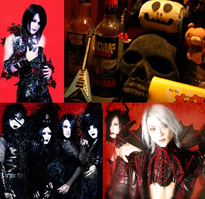 j-rocker, visual kei blood band, fu-ki ex-blood vocalist, skull skeleton decoration, goth home decor, goth bars in japan, umeda bars osaka, BAR MIDIAN IN OSAKA, OWNED BY FUKI OF VISUAL KEI BAND BLOOD. HARD ROCK HEAVY METAL gothic BARS IN JAPAN, JROCK VK HANGOUTS. キッチュ. japanese dive bars, rock concerts performances