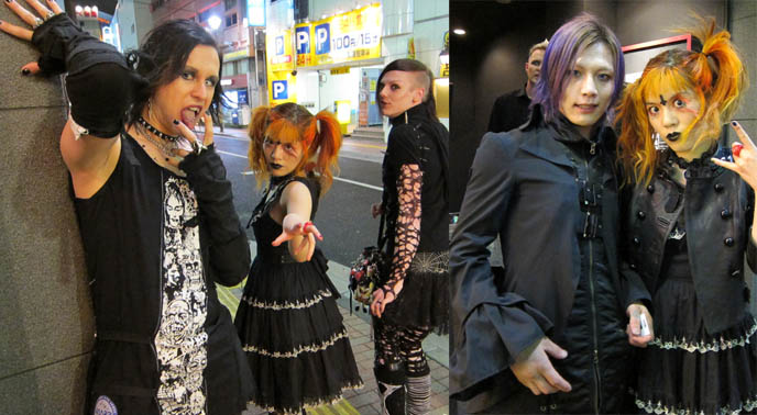 TOKYO CLUB TRAVEL GUIDE: MIDNIGHT MESS GOTH EBM INDUSTRIAL DANCE NIGHTCLUB. JAPAN NIGHTLIFE ENTERTAINMENT ACTIVITIES. GOTHIC LOLITA girls, egl, teen goths, gothic fashion boys, harajuku street style, japanese streets, fruits, kera magazine