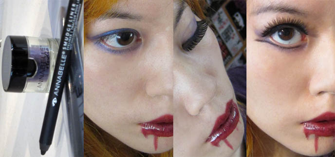 vampires makeup. vampire girl makeup and