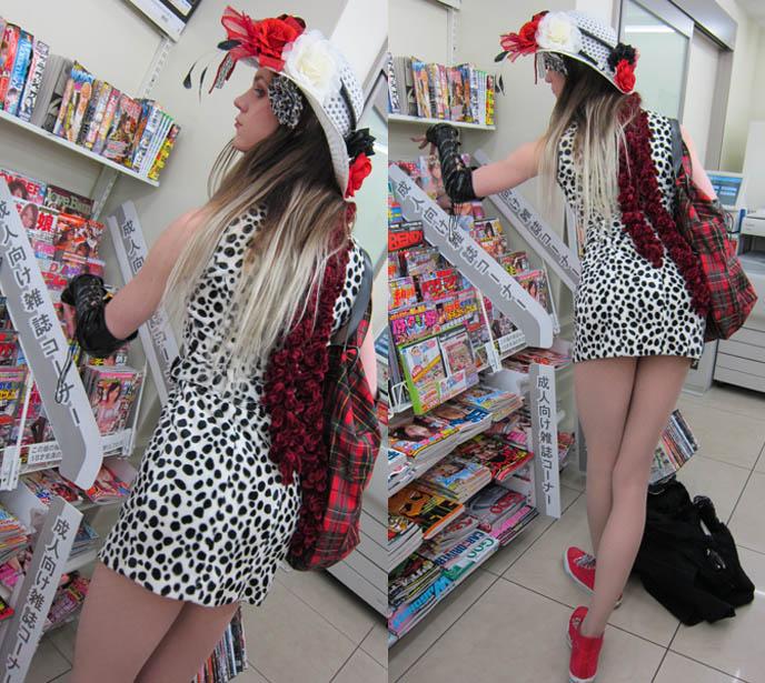 VISUAL KEI LABELS DARKEST LABYRINTH & STARWAVE RECORDS JOIN HEARJAPAN. GPKISM, SATAN, CALMANDO QUAL CONCERT IN TOKYO. jrock goth japanese bands live, meguro rockmaykan, sexy cross-dressing tranny dress, floppy hat flowers, alice in the dead world, OMEGA DRIPP
