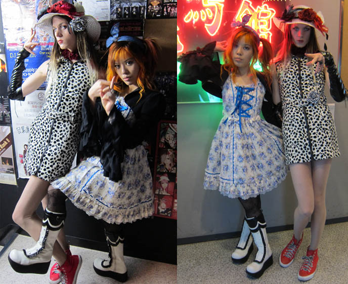 GPKISM, SATAN, CALMANDO QUAL visual kei CONCERT IN TOKYO. VISUALKEI LABELS DARKEST LABYRINTH & STARWAVE RECORDS JOIN HEARJAPAN. jrock goth japanese bands live, meguro rockmaykan, metamorphose temps de fille dress, moi meme moitie white blue floral jsk, alice in the dead world, OMEGA DRIPP