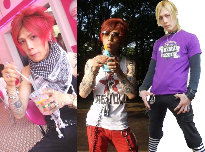 japanese boy with dyed red hair, hide x japan, cute japanese boys harajuku fashion, punk boys tokyo, STEAMPUNK IN JAPAN! KENNY CREATION: ELEGANT GOTH ARISTOCRAT FASHION, HARAJUKU MENS CLOTHING & STREET STYLE. steampunk clothing where to buy, shopping, Victorian mens vests and goggles