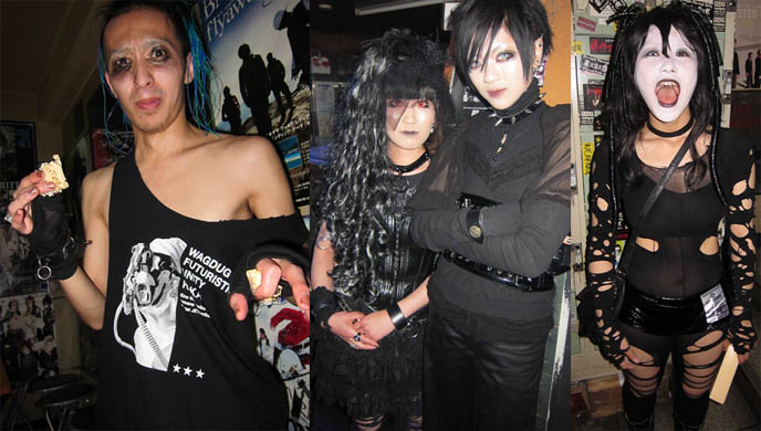 GOTH CLUBS IN TOKYO, JAPAN: GOTHIC BAR HEAVEN, DJ CHIHIRO, TETRA & D'S VALENTINE. STRANGE NEW JAPANESE FETISH. Shibuya club crawl, Japanese goth cyber fashion style, goth travel weird japan, craziest dress-up crossdressing book traveling jpop attractions tourism visit