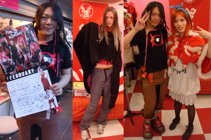 TAKUYA ANGEL HARAJUKU STORE IS CLOSING. FINAL FASHION SHOW, AVANTGARDE CYBER JAPAN CLOTHING BRAND. goth mens clothing in japan, tokyo shopping gothic clothes, male models japanese, hair falls dreads, takuya angel shop closing, takeshita doori