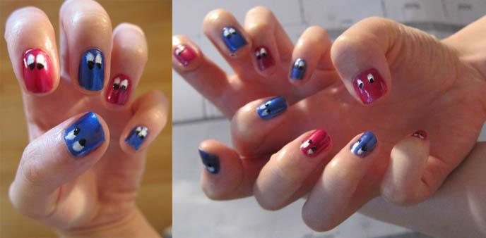 Cute googly eyes nail art yukiros debut performance at tokyo harajuku nail art cute googly eyes nail art moomin swedish character cute prinsesfo Image collections