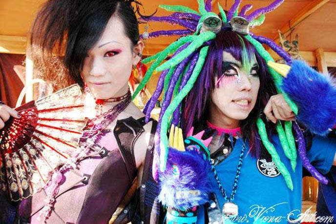 SEILEEN, DJ SELIA & SISEN BAND, tokyo decadance artists, bands, japan gothic nightclubs events, kawaii nails, fake nails cute face, decora kawaii girls, cyber fetish fashion makeup, ebm industrial music