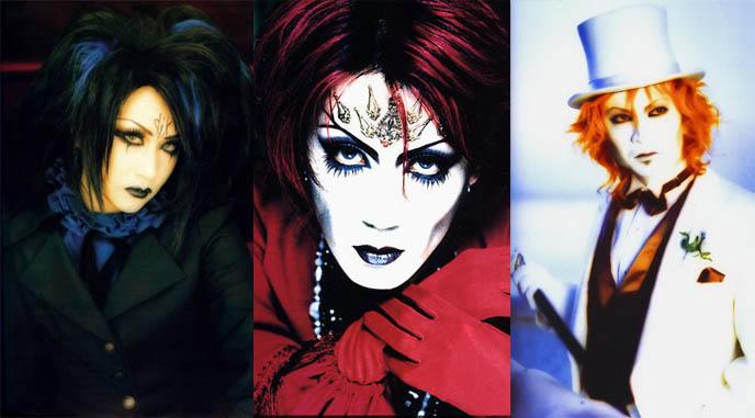mana yuki kozi, MALICE MIZER REUNION! MOI DIX MOIS 2010 CONCERT, MANA KOZI YUKI REUNITED: DEEP SANCTUARY II IN TOKYO. Gothic Lolita fans of mana-sama, ega egl, elegant goth fashion japan, japanese visual kei legend, gackt klaha, band members of malice mizer