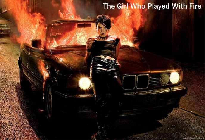the girl who played with fire, noomi rapace, swedish movie, girl with dragon tattoo, actress lisbeth salander, goth girl computer hacker, noomi gothic, piercings tattoos girl