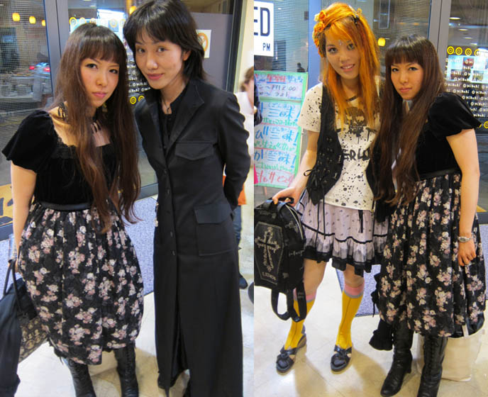 cute gothic lolita japanese girls, mary magdalene clothes, where to eat sushi in tokyo, conveyer belt sushi parlors, JAPANESE food shinjuku, DOLL EYELASHES & CHEAP SUSHI IN SHINJUKU. PURIKURA GYARU STICKER BOOTHS IN TOKYO GAME CENTER, ABSINTHE JELLY DESSERT.