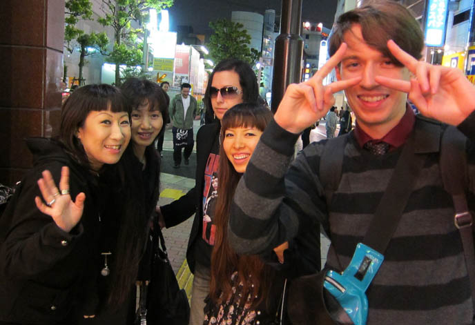asian poses, japanese v fingers symbol, tokyo cute girls in kabukicho, harajuku fashion snaps, outdoors streets of shinjuku, experimental alternative street style, cheap sushi restaurant in tokyo, conveyer belt sushi parlors, JAPANESE food shinjuku, JAPANESE DOLL EYELASHES & CHEAP SUSHI IN SHINJUKU. PURIKURA EYE-ENLARGING STICKER BOOTHS IN TOKYO GAME CENTER, ABSINTHE JELLY.